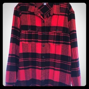 Old navy flannel jacket shirt , new without tag